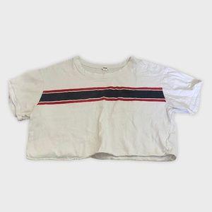 Cropped garage t shirt